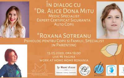 În Dialog- Siguranța Auto la copii cu Alice Dona